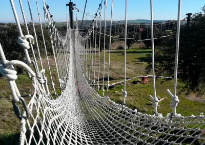 detalle puente de cuerdas